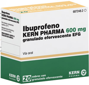 Ibuprofeno-alcohol