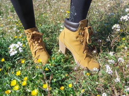 "Zapatos tipo ""Timberland"""
